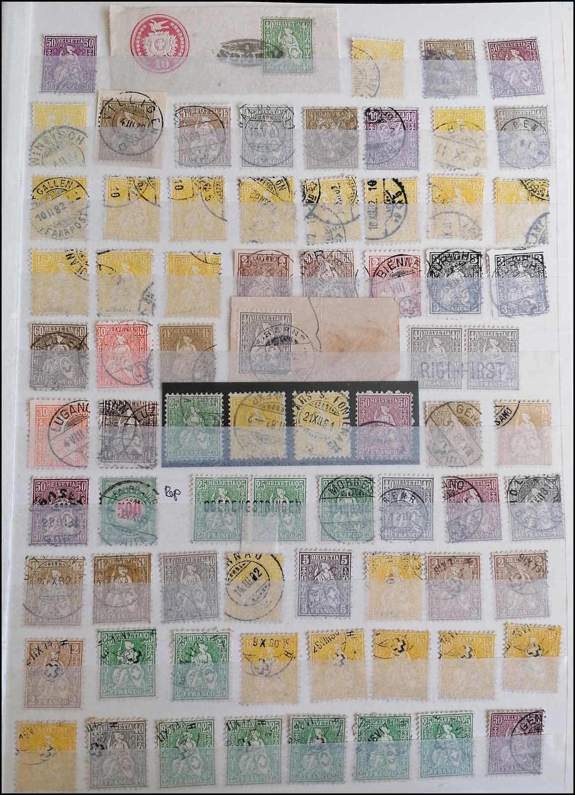 Lot 3 - sammlungen und posten sammlungen und posten altschweiz -  Rolli Auctions Auction #68 Day 1