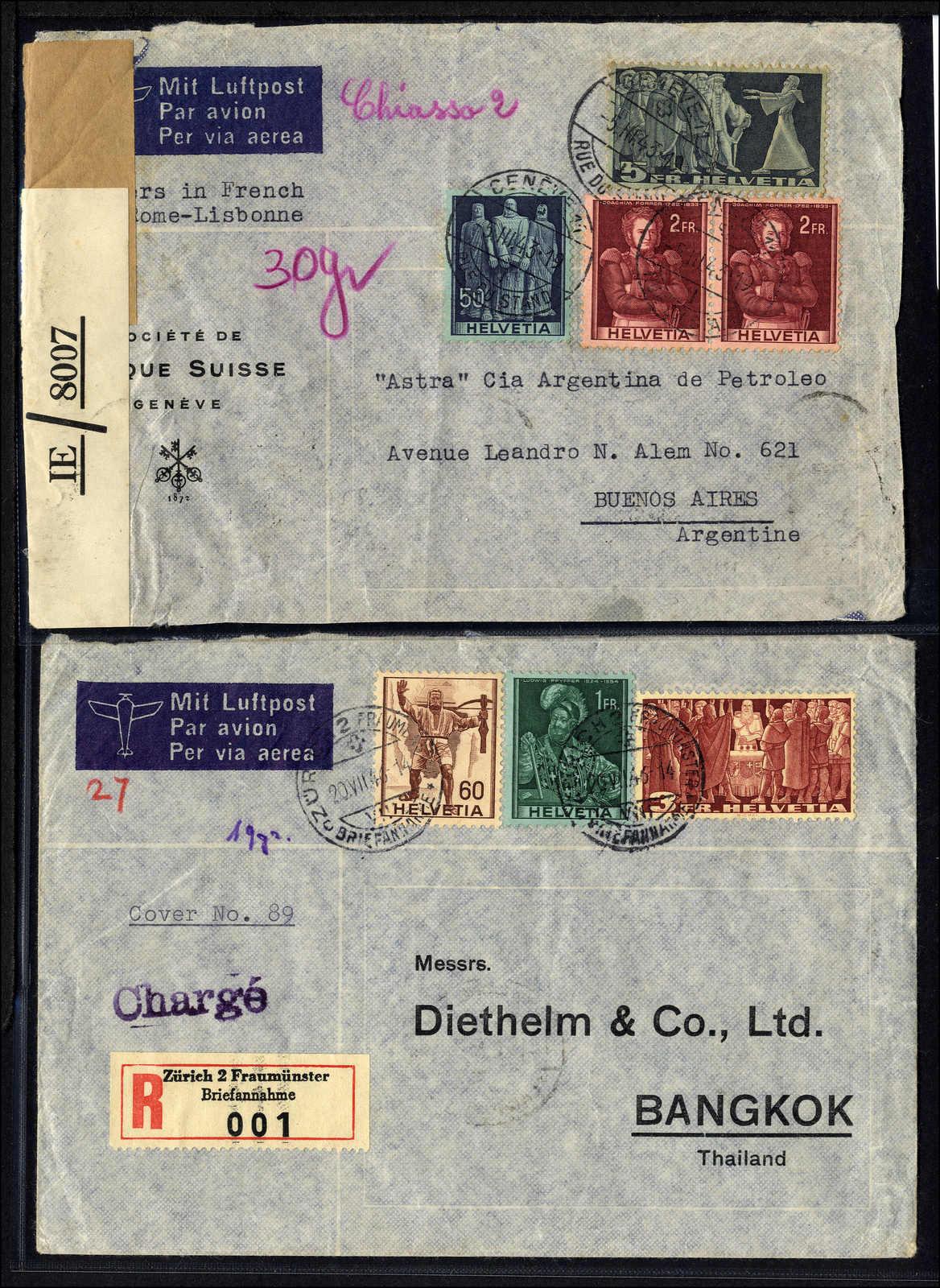 Lot 118 - schweiz schweiz -  Rolli Auctions Auction #68 Day 1