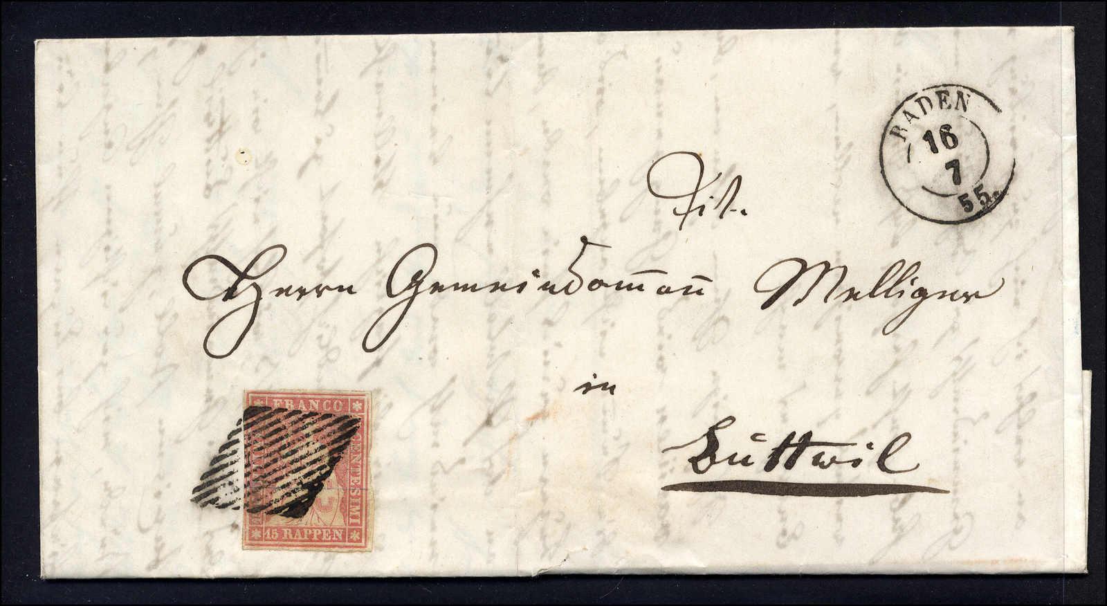 Lot 74 - sammlungen und posten sammlungen und posten altschweiz -  Rolli Auctions Auction #68 Day 1