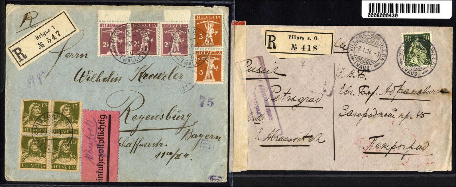 Lot 128 - schweiz schweiz -  Rolli Auctions Auction #68 Day 1