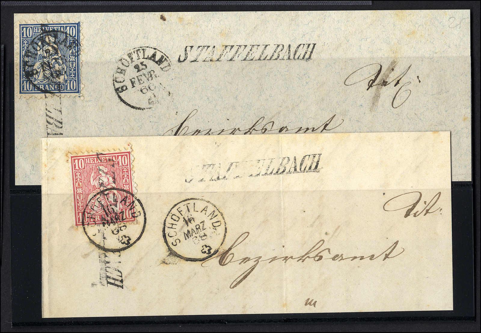 Lot 109 - schweiz Schweiz Sitzende Helvetia gezähnt -  Rolli Auctions Auction #68 Day 1