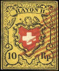 5655103: Rayon II, gelb, ohne Kreuzeinfassung (STEIN B)