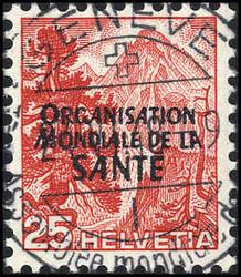 5695: Schweiz Internationale Flüchtlingsorganisation OIR - Dienstmarken