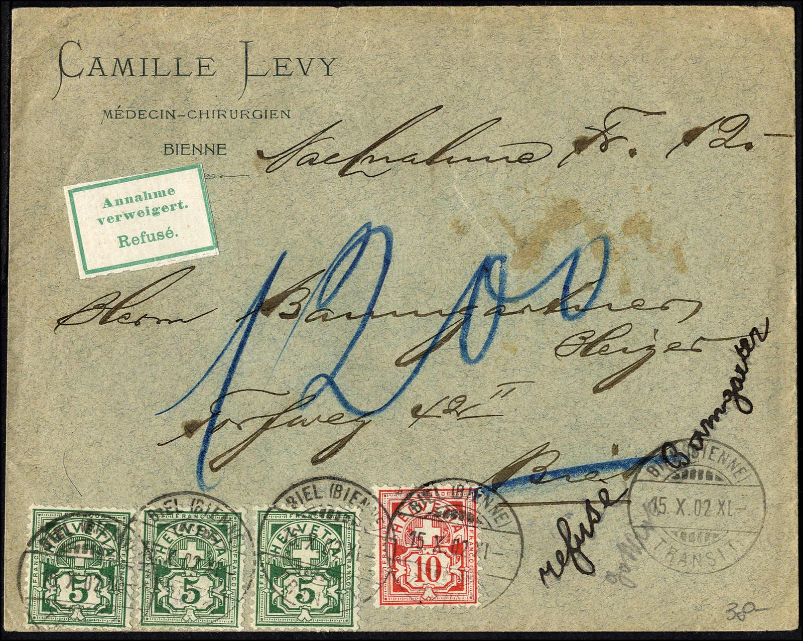 Lot 113 - schweiz schweiz -  Rolli Auctions Auction #68 Day 1