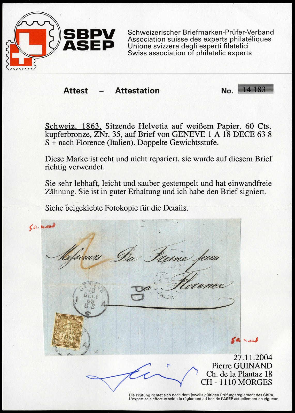 Lot 101 - schweiz schweiz -  Rolli Auctions Auction #68 Day 1