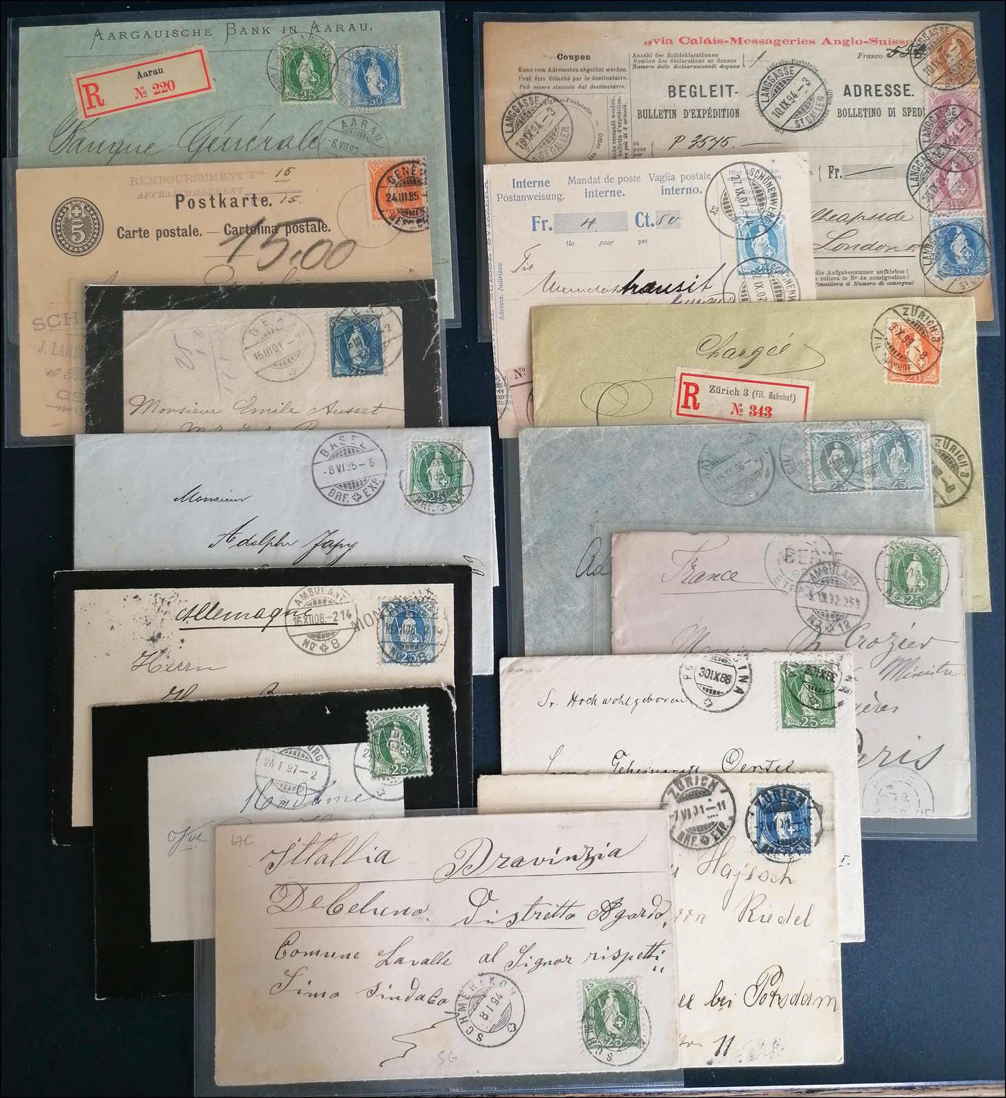 Lot 115 - schweiz schweiz -  Rolli Auctions Auction #68 Day 1