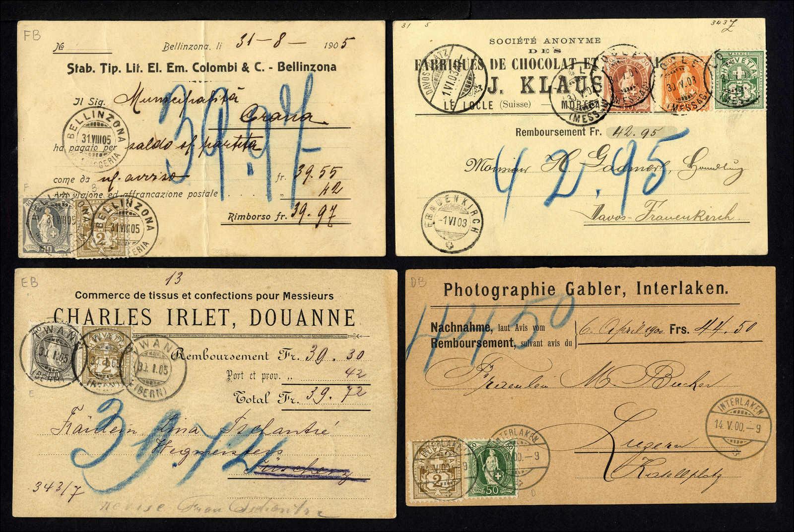 Lot 114 - schweiz schweiz stehende helvetia -  Rolli Auctions Auction #68 Day 1