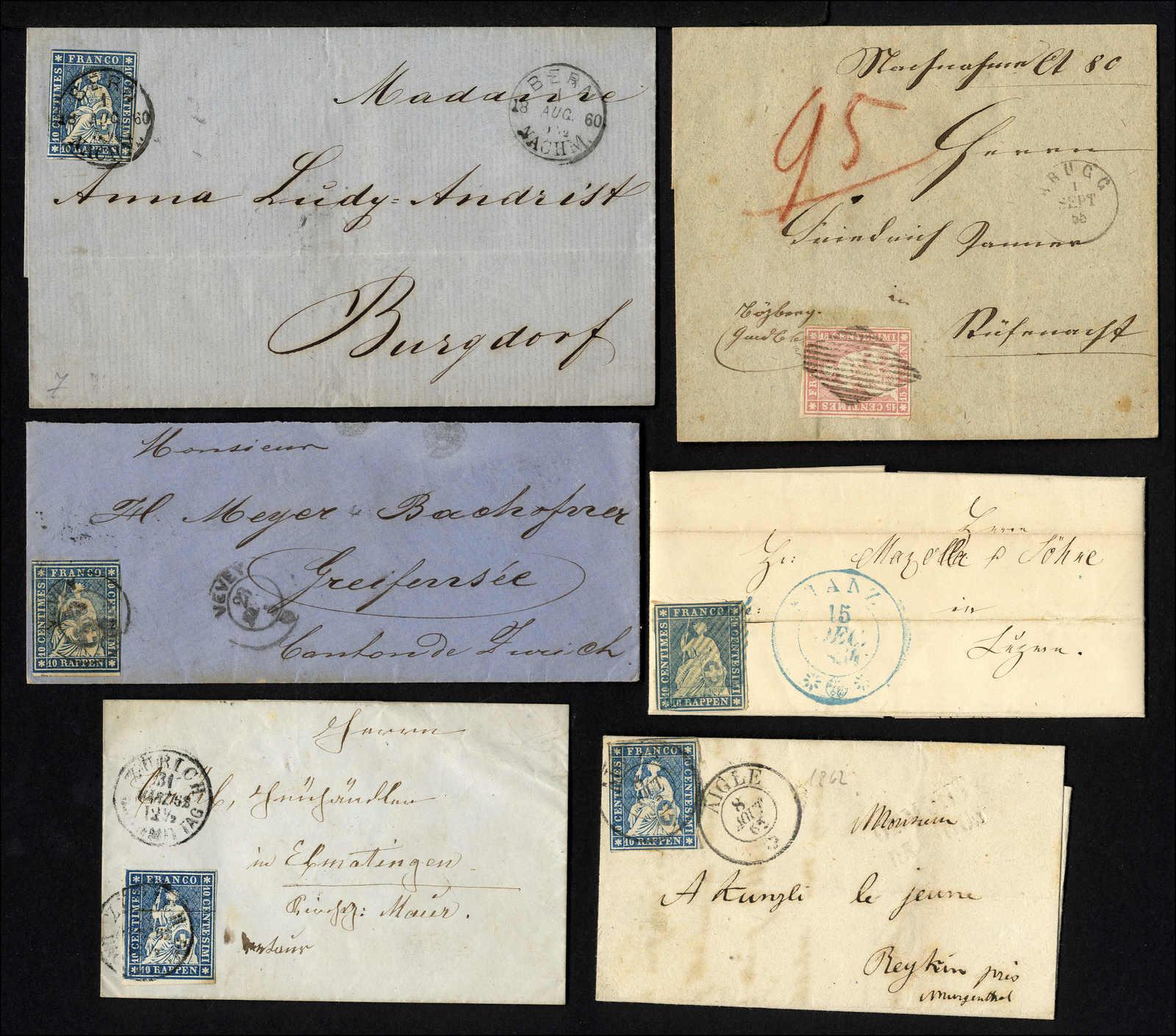 Lot 72 - sammlungen und posten sammlungen und posten altschweiz -  Rolli Auctions Auction #68 Day 1