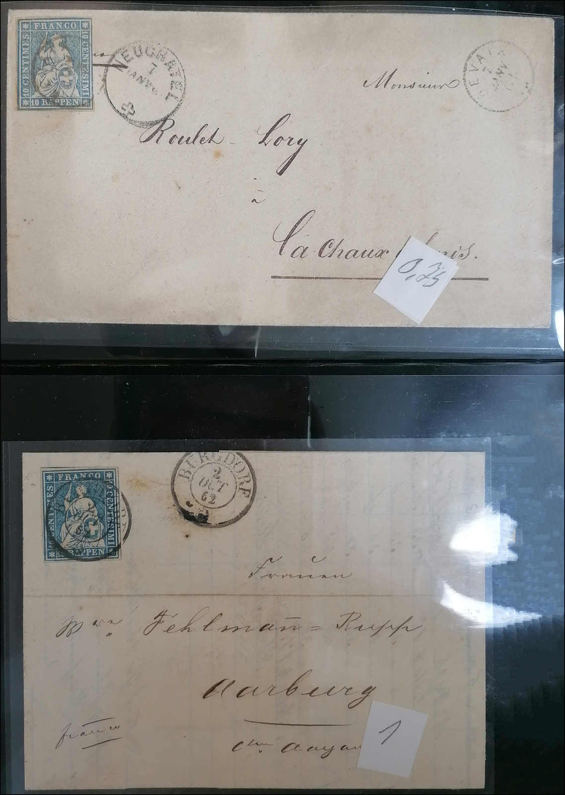 Lot 79 - sammlungen und posten sammlungen und posten altschweiz -  Rolli Auctions Auction #68 Day 1
