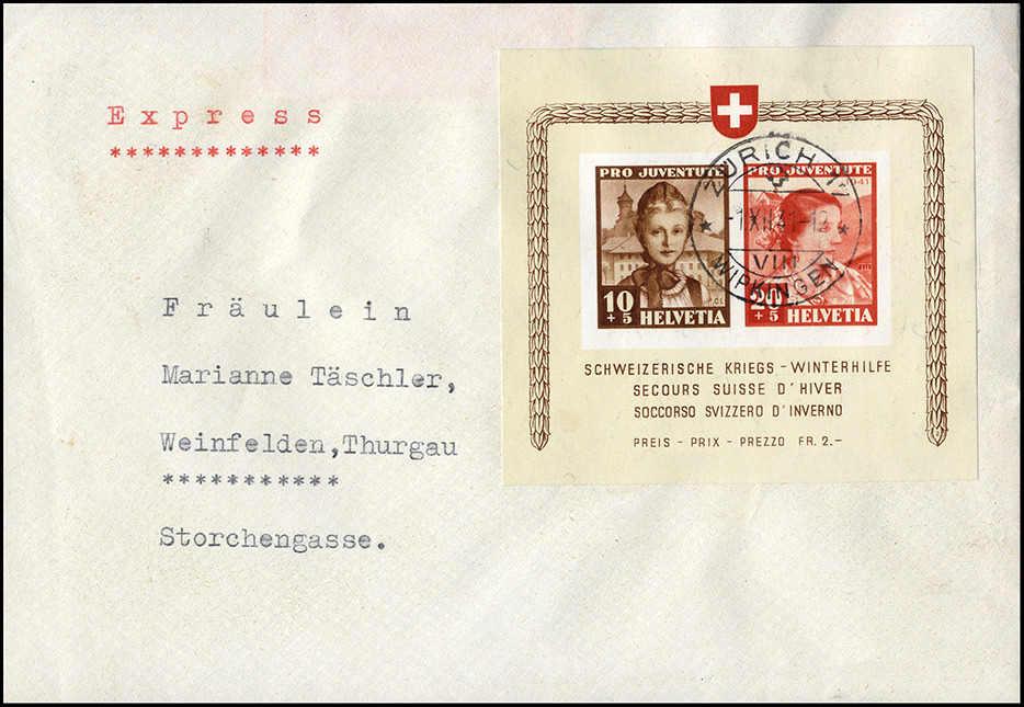 Lot 210 - schweiz Schweiz Blöcke -  Rolli Auctions Auction #68 Day 1