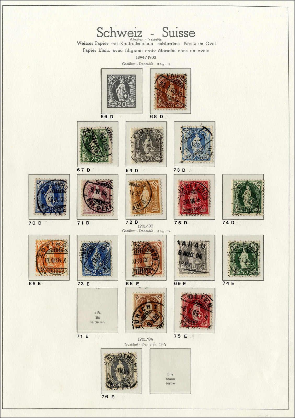 Lot 89 - schweiz schweiz -  Rolli Auctions Auction #68 Day 1