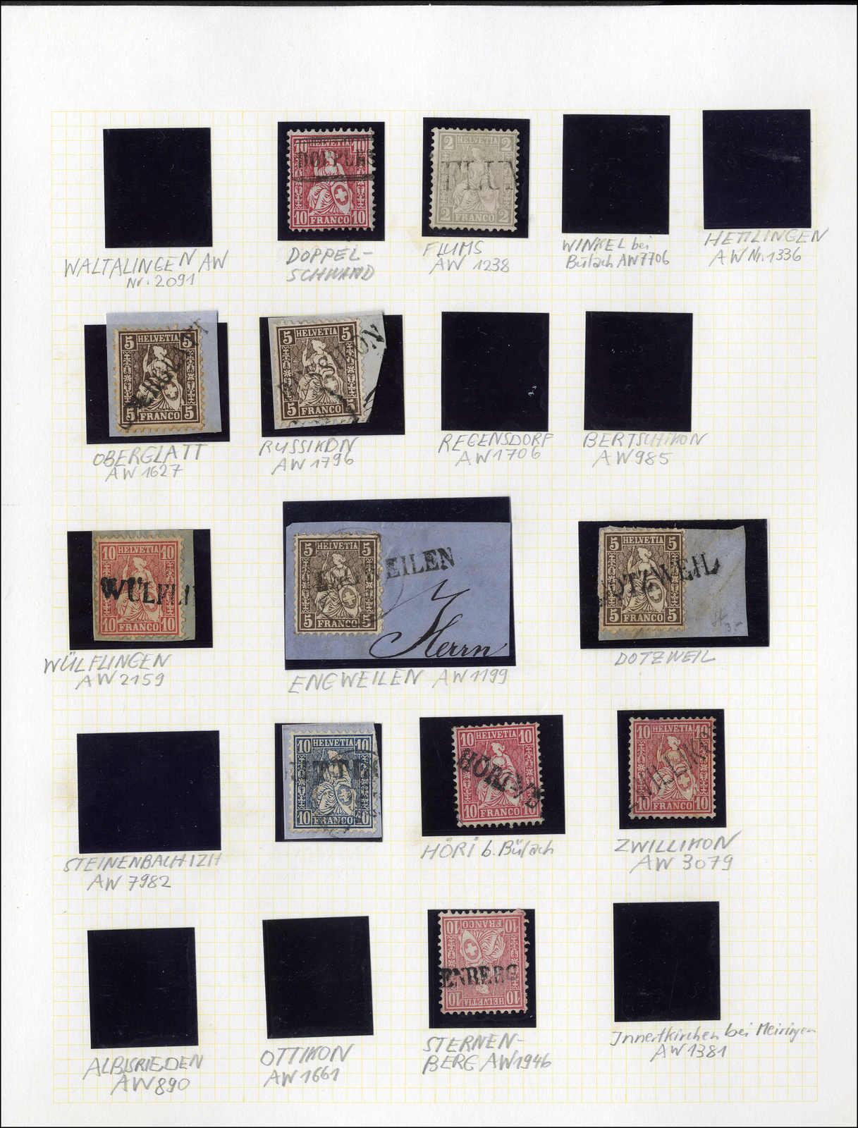 Lot 124 - schweiz Schweiz Strubel -  Rolli Auctions Auction #68 Day 1