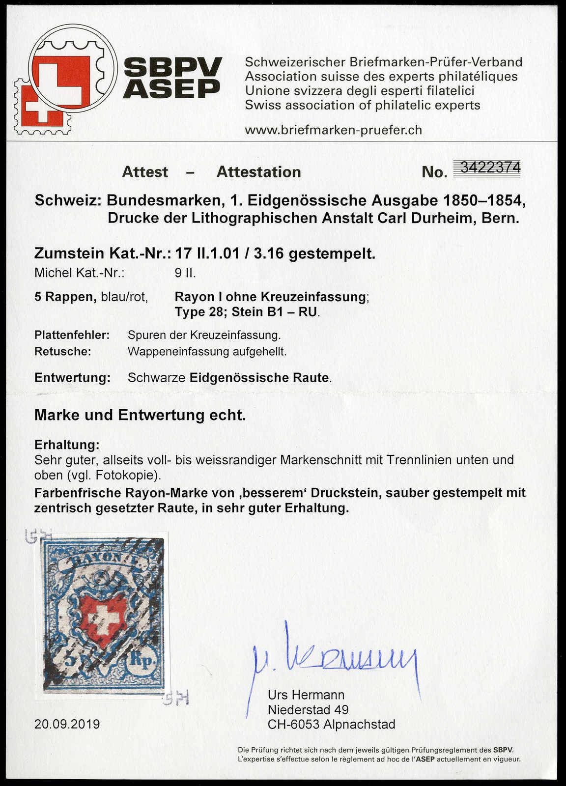 Lot 21 - sammlungen und posten sammlungen und posten altschweiz -  Rolli Auctions Auction #68 Day 1