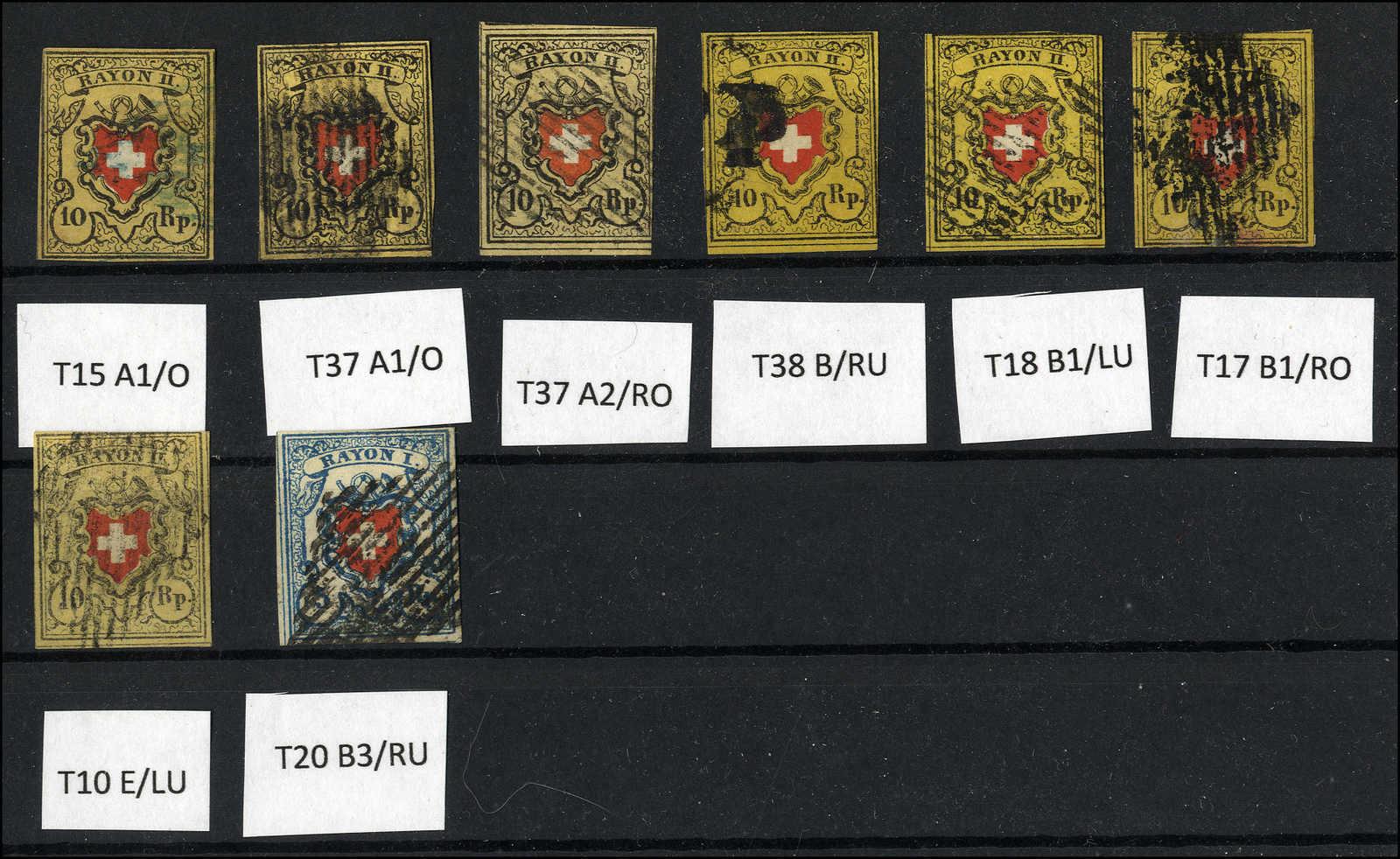 Lot 7 - sammlungen und posten sammlungen und posten altschweiz -  Rolli Auctions Auction #68 Day 1