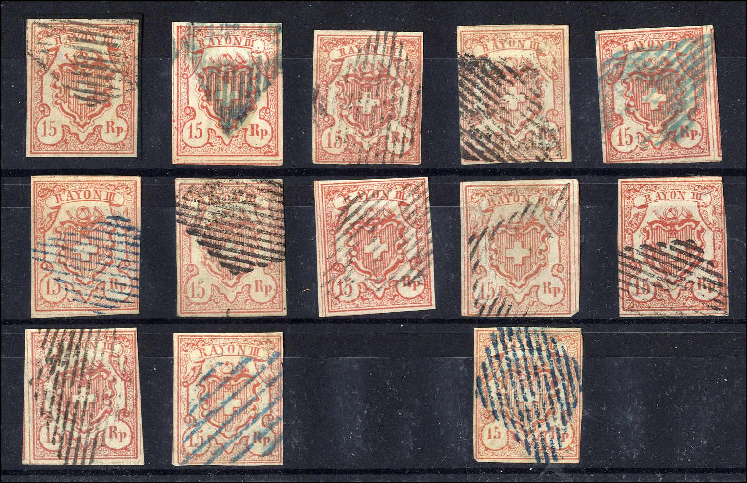 Lot 20 - sammlungen und posten sammlungen und posten altschweiz -  Rolli Auctions Auction #68 Day 1