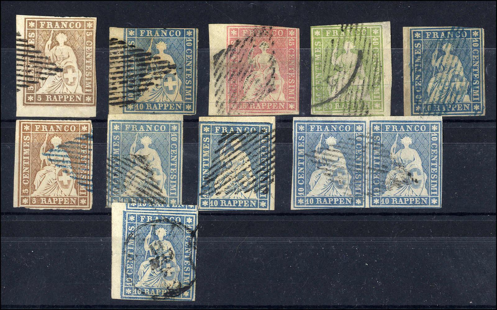 Lot 57 - sammlungen und posten sammlungen und posten altschweiz -  Rolli Auctions Auction #68 Day 1