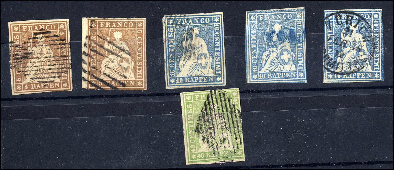Lot 48 - sammlungen und posten sammlungen und posten altschweiz -  Rolli Auctions Auction #68 Day 1