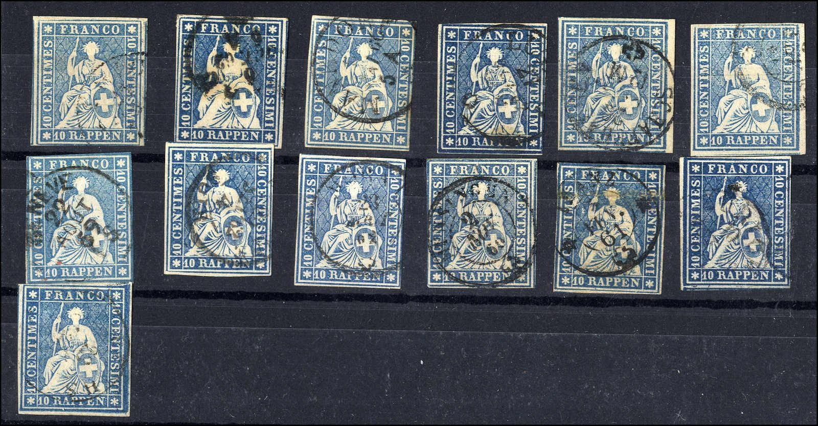 Lot 49 - sammlungen und posten sammlungen und posten altschweiz -  Rolli Auctions Auction #68 Day 1