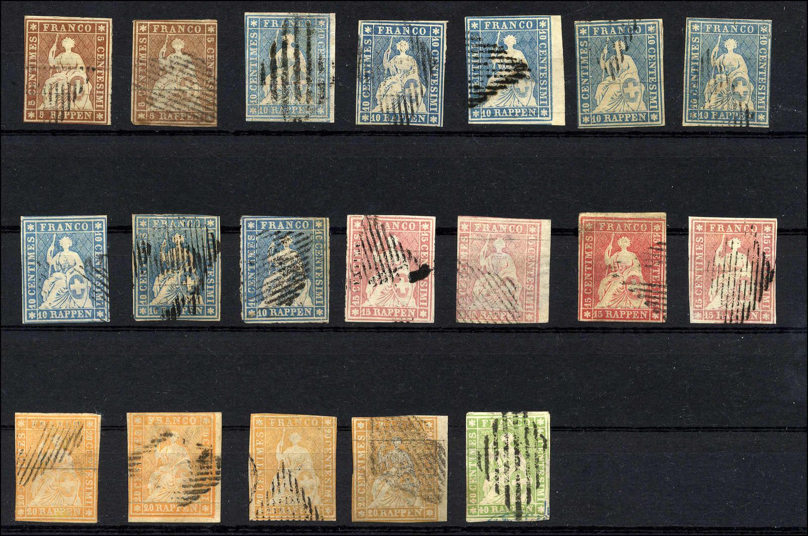 Lot 47 - sammlungen und posten sammlungen und posten altschweiz -  Rolli Auctions Auction #68 Day 1
