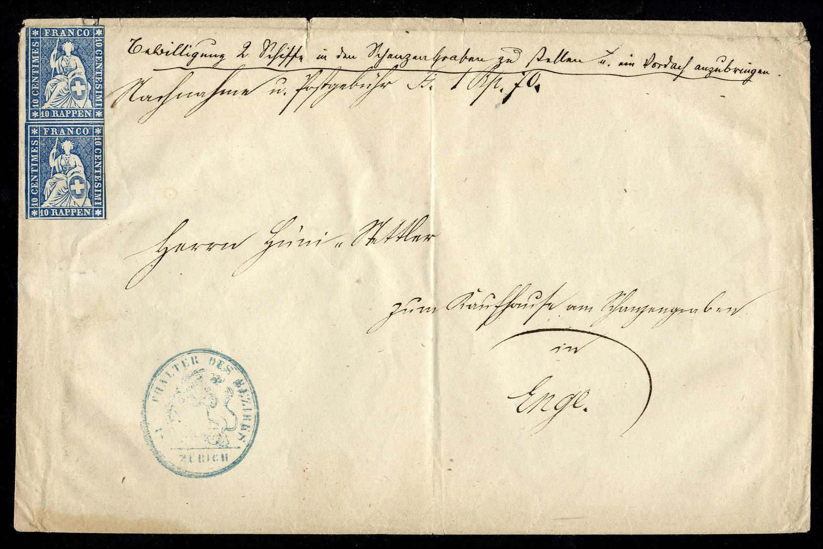 Lot 44 - sammlungen und posten sammlungen und posten altschweiz -  Rolli Auctions Auction #68 Day 1