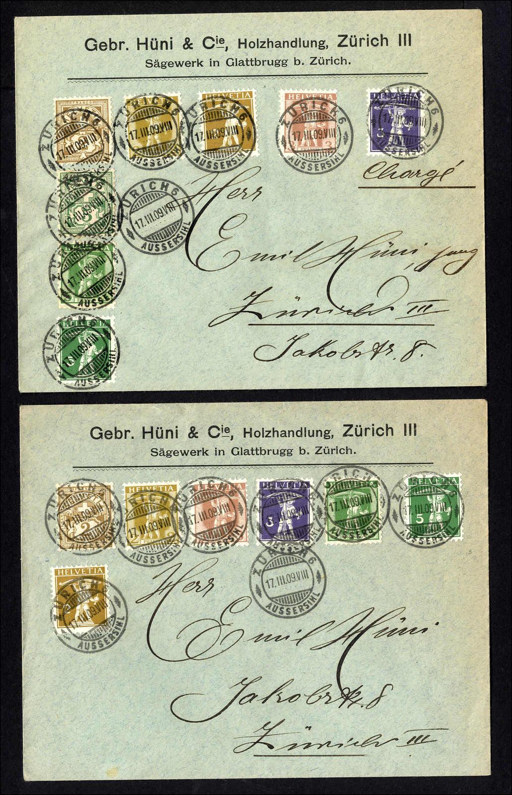 Lot 151 - schweiz Schweiz Freimarken nach 1907 -  Rolli Auctions Auction #68 Day 1