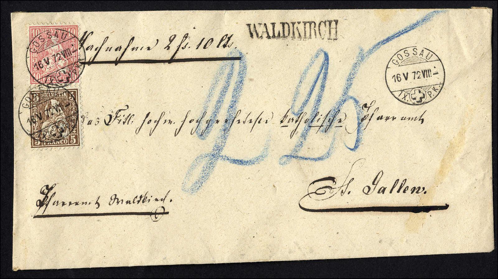 Lot 107 - schweiz Schweiz Sitzende Helvetia gezähnt -  Rolli Auctions Auction #68 Day 1