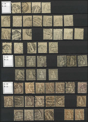 7240: Collections and Lots Switzerland early issues - Collections
