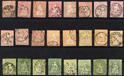 7240: Sammlungen und Posten Altschweiz - Sammlungen