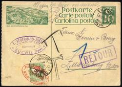 4210: Luxemburg - Portomarken