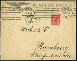 4745: Autriche - Private postal stationery