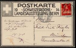 5655156: Schweiz Freimarken nach 1907 - Postkarten