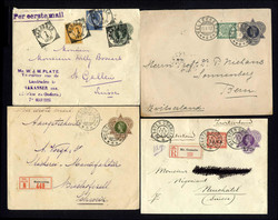 4635: Netherlands Indies - Postal stationery