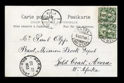 5655147: Schweiz Stehende Helvetia - Postkarten