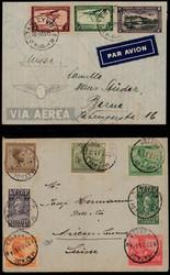 1850: Belgisch-Kongo - Briefe Posten