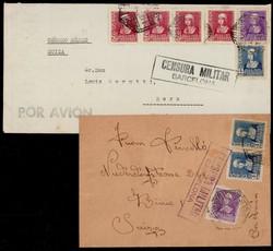 5790: Spanien - Briefe Posten