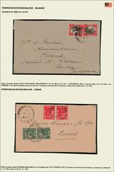 4340: Malaysia - Briefe Posten