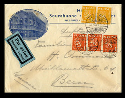 7094: Sammlungen und Posten Skandinavien - Briefe Posten