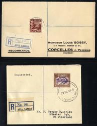 2305: Cook Inseln - Briefe Posten