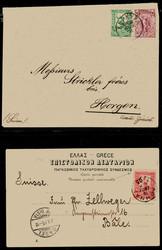 2820: Griechenland - Ganzsachen