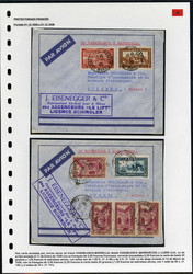 4380: Marokko - Briefe Posten