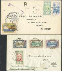 2735: Französisch Polynesien - Briefe Posten