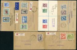 4895: Papua - Briefe Posten