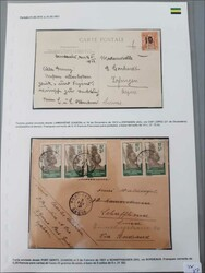 2765: Gabun - Briefe Posten