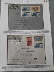 2435: Elfenbeinküste - Briefe Posten