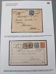1560050: Bureaux de poste de Französsische de l'Egypte - Postal stationery
