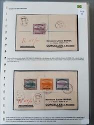 1860: Belize - Briefe Posten