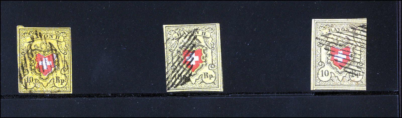 Lot 14 - sammlungen und posten sammlungen und posten altschweiz -  Rolli Auctions Auction #68 Day 1