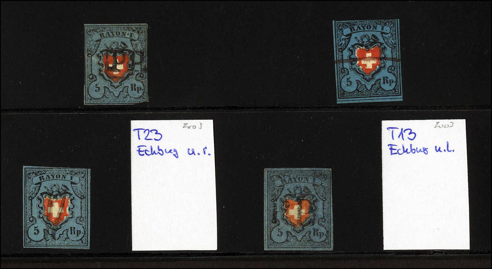 Lot 12 - sammlungen und posten sammlungen und posten altschweiz -  Rolli Auctions Auction #68 Day 1