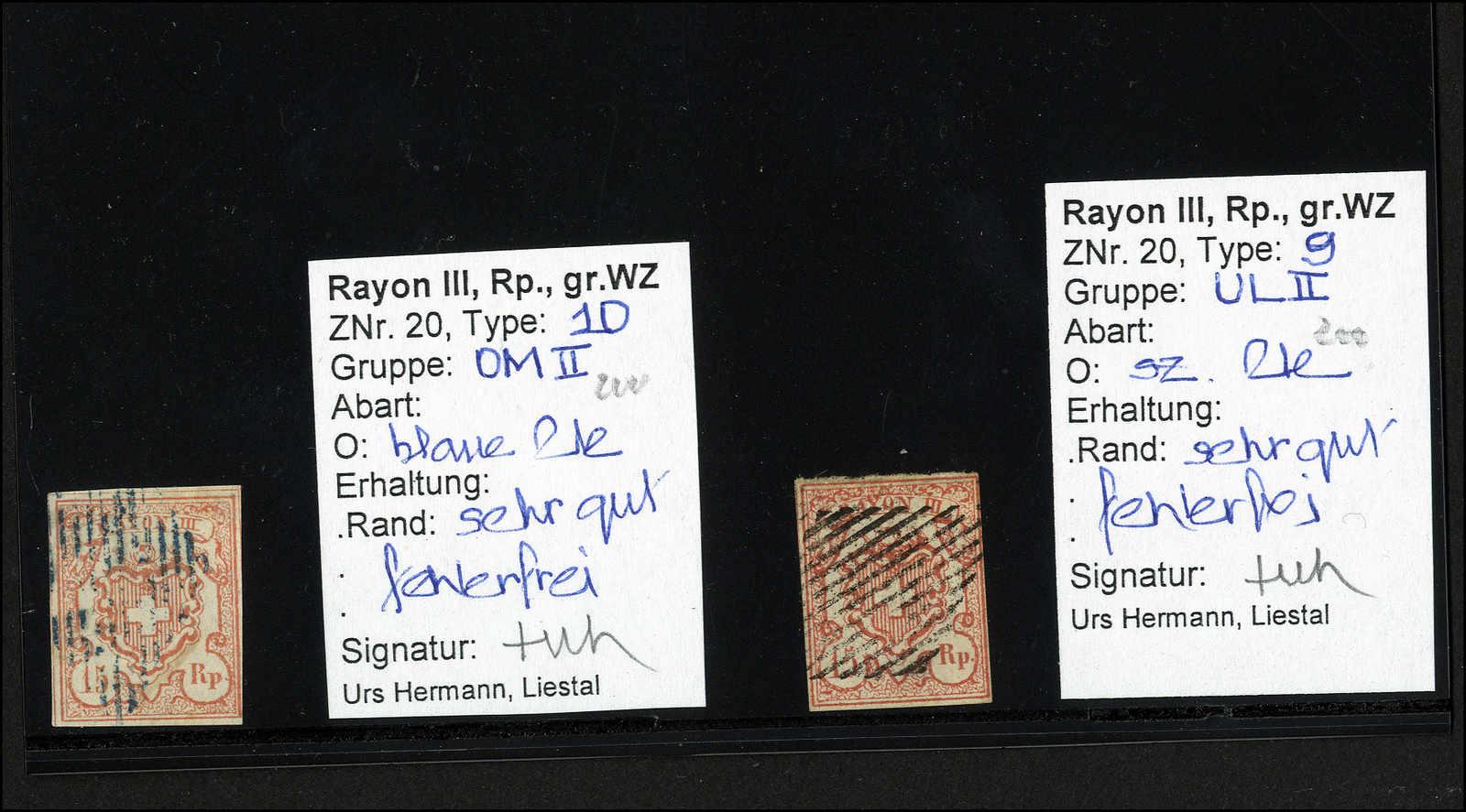 Lot 17 - sammlungen und posten sammlungen und posten altschweiz -  Rolli Auctions Auction #68 Day 1
