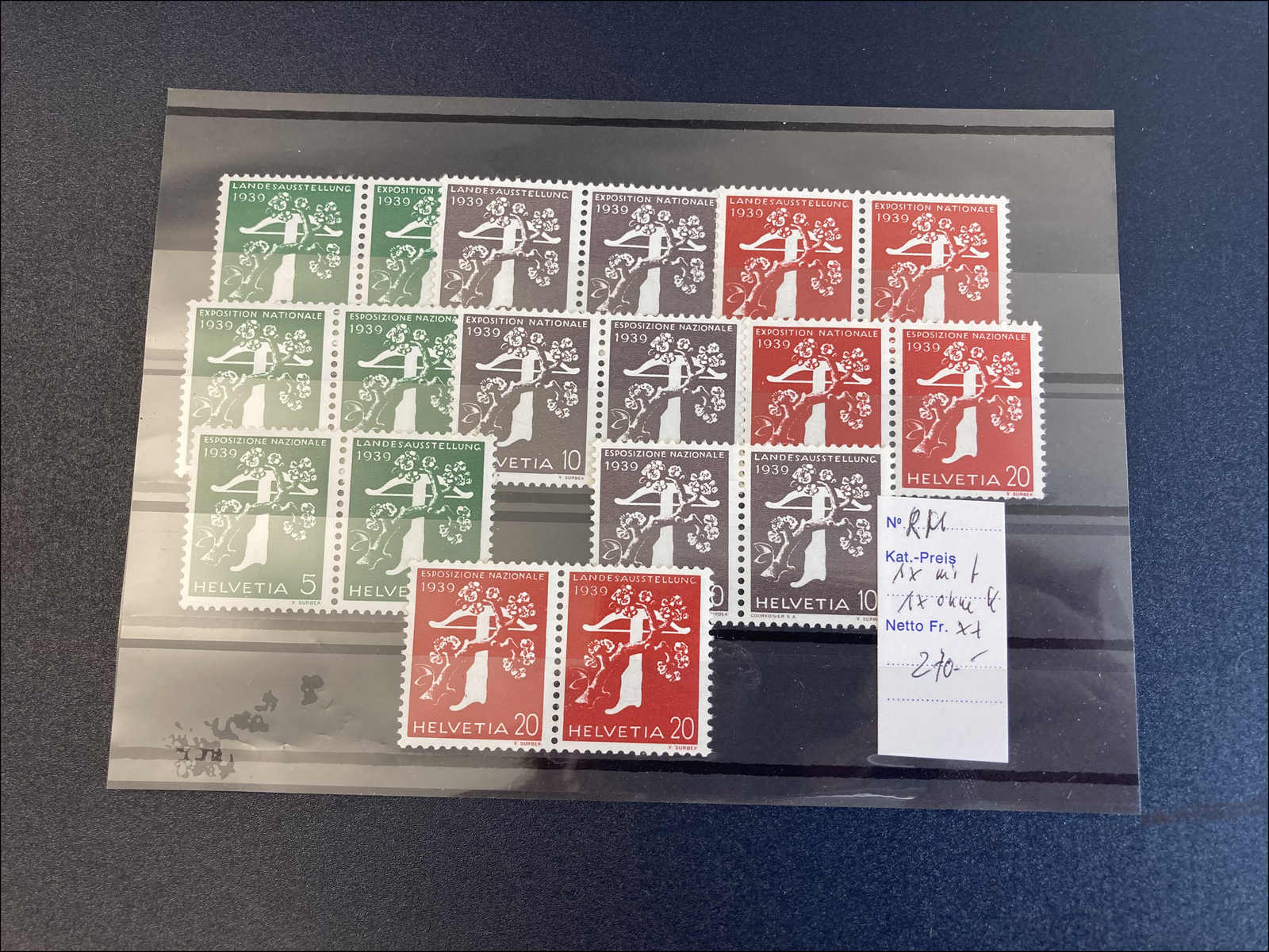Lot 153 - schweiz Schweiz Freimarken nach 1907 -  Rolli Auctions Auction #68 Day 1